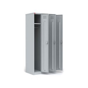 Шкаф металлический для одежды ШРМ-33