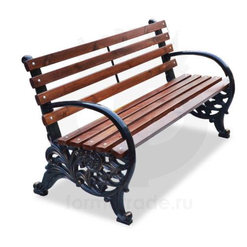 Скамейка чугунная «Карусель»