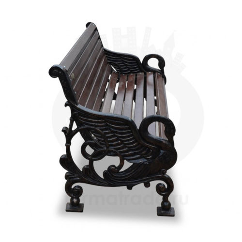Скамейка чугунная «Лебеди»
