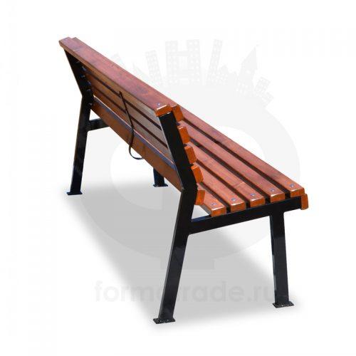 Скамейка «Модерн» без подлокотников