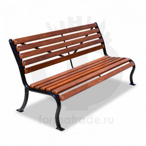 Скамейка стальная «Мой Двор»