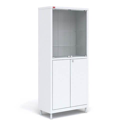 Шкаф медицинский М1 М с двумя отделениями M2C