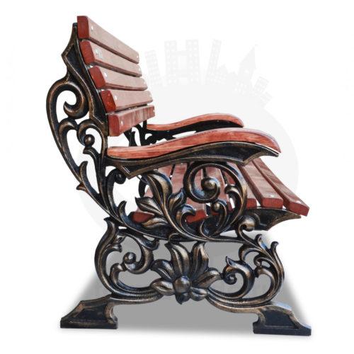 Скамейка чугунная «Флора»