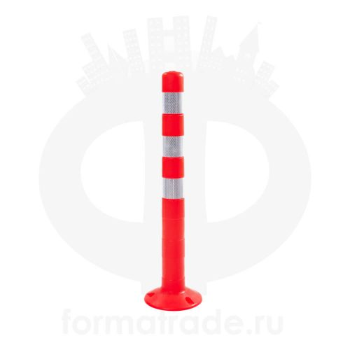 Столбик парковочный упругий ССУ750