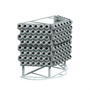 Вазоны для вертикального озеленения на Пристеной конструкции