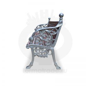 Скамейка алюминиевая «Соловей NOVA»