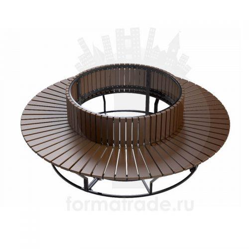 Круглая скамейка «Диван круглый»