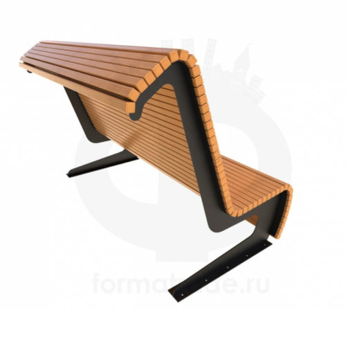 Скамейка стальная «Пифагор»