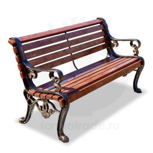 Скамейка садово-парковая «Гефест»