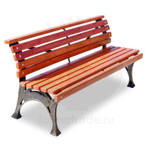 Скамейка чугунная «Хутор»