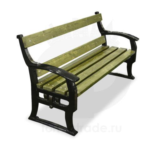 Скамейка чугунная «Кёльн»
