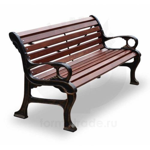 Скамейка садово-парковая «Наутилус»