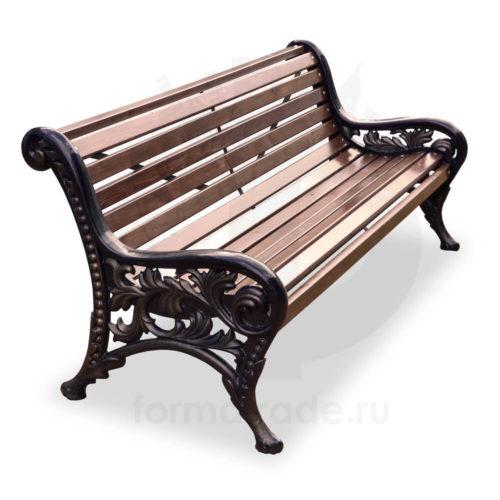 Скамейка чугунная «Новый Парк»