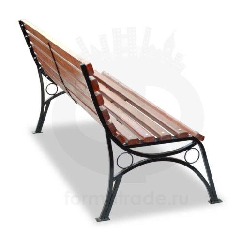 Скамейка «Бульвар» без подлокотников