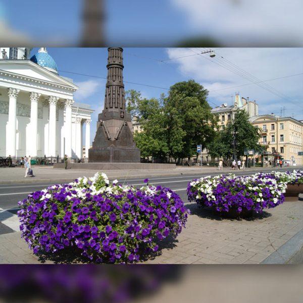 """Вазон напольный для цветов """"Ваза110"""""""