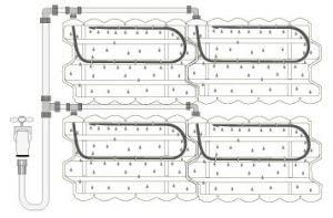 Модуль для вертикального озеленения Живая стена ЦН-24