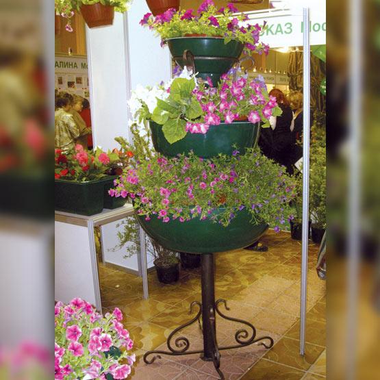 """Конструкция для уличных цветочных вазонов """"Бутон 3"""""""