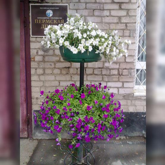 """Форма для уличных цветочных вазонов """"Столбик 2"""""""