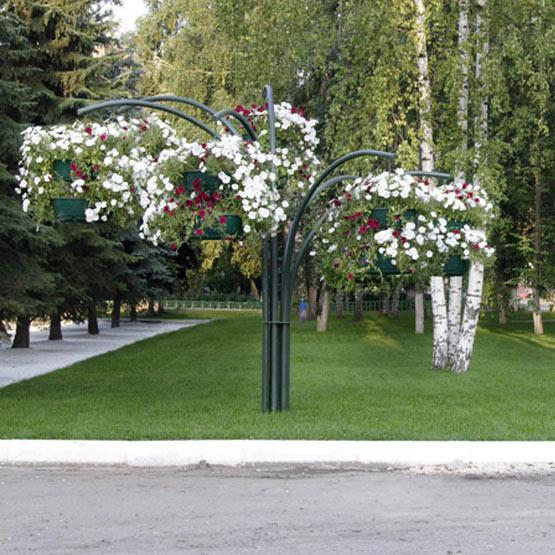 """Форма из вазонов для цветов """"Фонтан"""""""