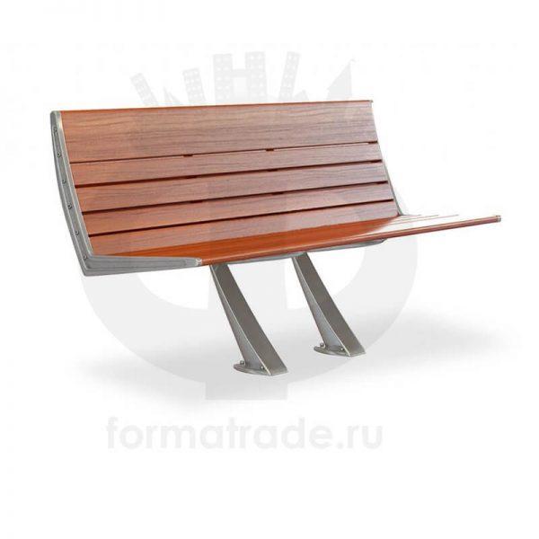 Скамейка алюминиевая «Сити Уни»
