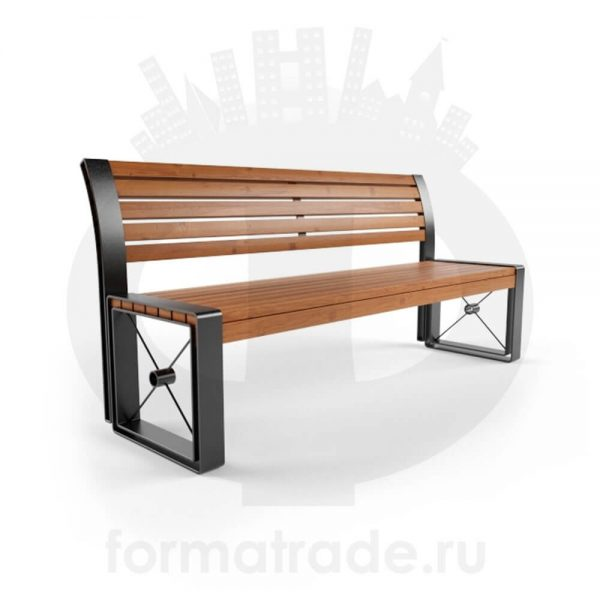 Скамейка стальная «София»