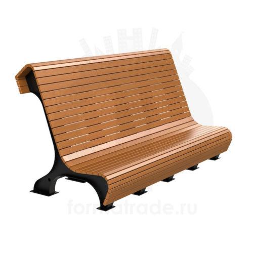 Скамейка стальная «Сафари»