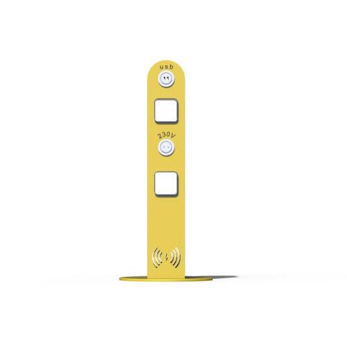 Двустороннее зарядное устройство USB и розеткой 230В