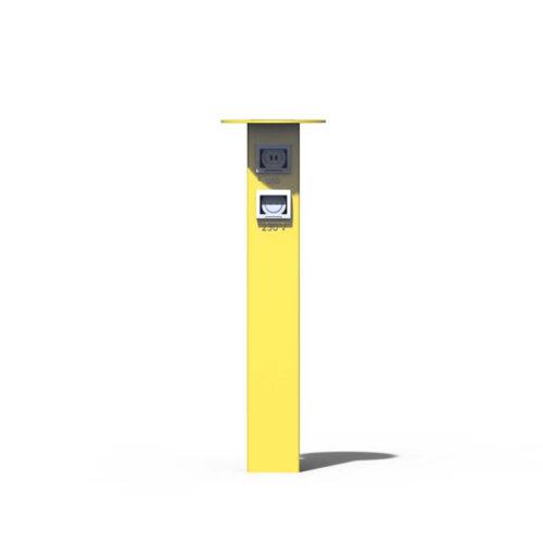 Наружная зарядная станция 230V + USB