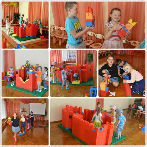 Конструктор Gigabloks для разных возрастных групп детского сада
