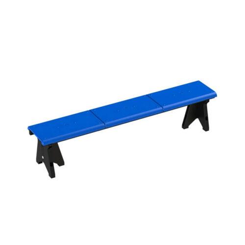 Лавки для школьных спортзалов и бассейнов трёхместная