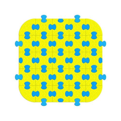 Пазловое покрытие для модульного манежа 1,25 х 1,25 м