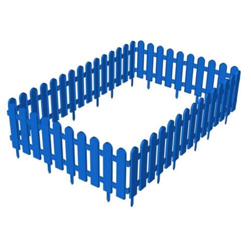 Пластиковый заборчик для грядок