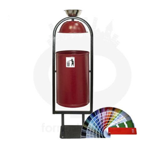 Парковая урна с пепельницей Рубин-Ф20